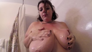 Thicc Girl Plays Them Tits – Massive Natural Boobs Stream XXX Porn Tube Video Image